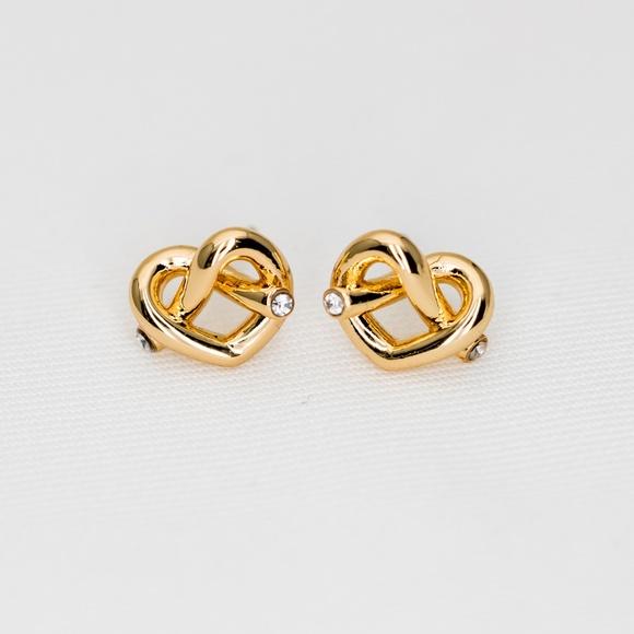 add64f23c kate spade Jewelry | Loves Me Knot Studs Earrings New | Poshmark